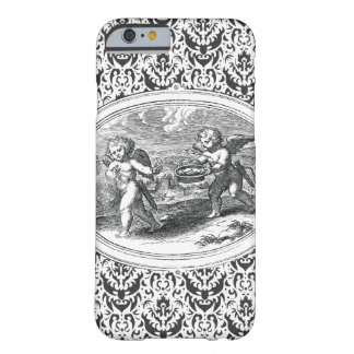 Two Cupids Antique Engraving Barely There iPhone 6 Case