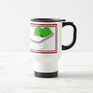 Two Cute Peas in a Pod Travel Mug