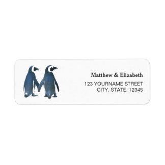Two Cute Penguins | Romantic Wedding