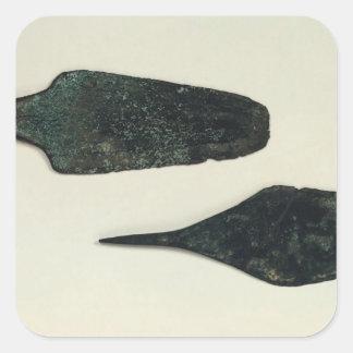 Two daggers 2000-1800 BC Square Sticker