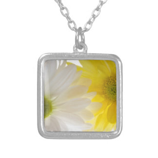 Two Daisies Floral Necklace