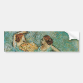 Two Dancers by Edgar Degas Bumper Stickers