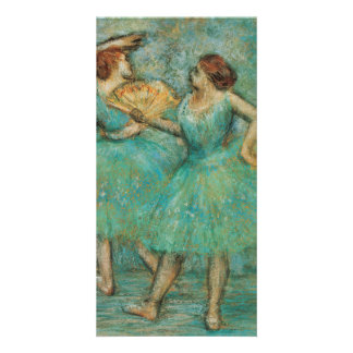 Two Dancers by Edgar Degas Photo Card