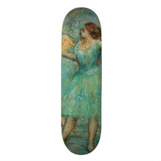 Two Dancers by Edgar Degas Custom Skate Board