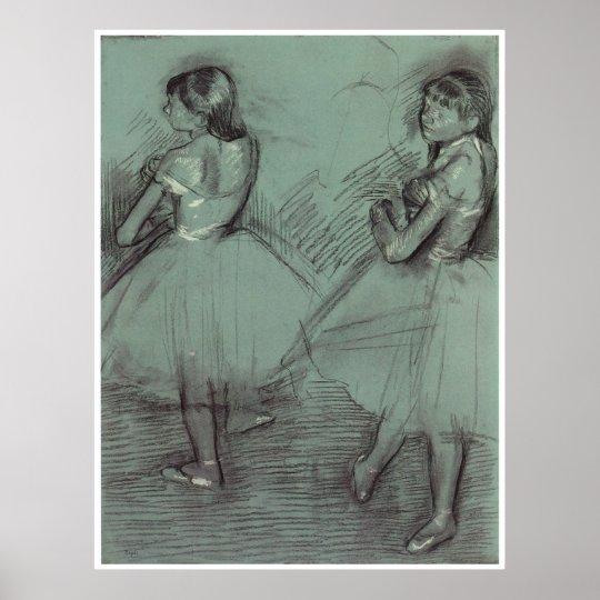 Two Dancers, c. 1879, Edgar Degas Poster