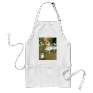 Two Dancers - Japanese Chin (L1) Standard Apron