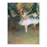 Two Dancers on a Stage, 1874 - Edgar Degas Poster