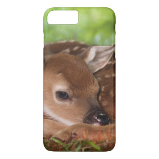 Two day old White-tailed Deer baby, Kentucky. iPhone 8 Plus/7 Plus Case