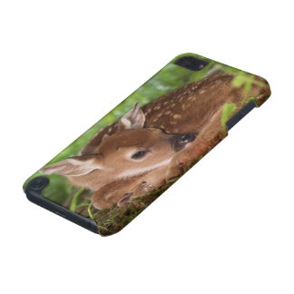 Two day old White-tailed Deer baby, Kentucky. iPod Touch (5th Generation) Cases