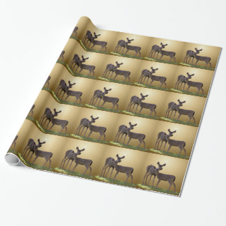 TWO DEER WRAPPING PAPER