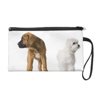 Two Dogs Wristlet