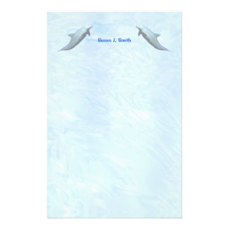 Two Dolphins Stationery