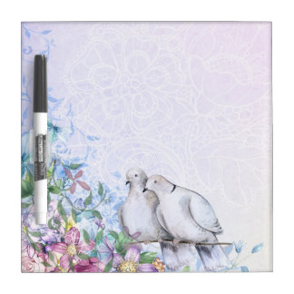 Two Doves Dry Erase Board