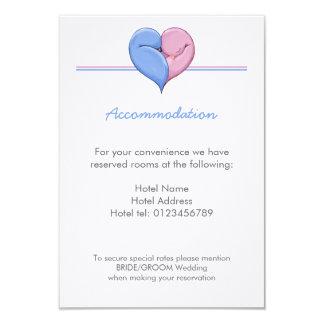 Two Doves One Heart Wedding Enclosure Card 9 Cm X 13 Cm Invitation Card