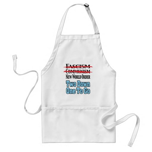 Two Down, One To Go Aprons