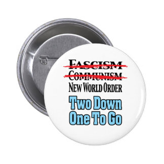 Two Down One To Go Pinback Buttons