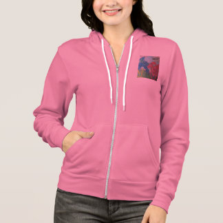 Two dragons colorful hoodie