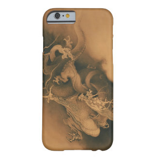 Two Dragons in Clouds Vintage Barely There iPhone 6 Case