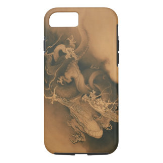 Two Dragons in Clouds Vintage iPhone 8/7 Case