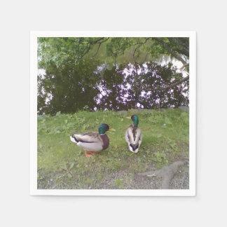 Two Ducks Disposable Serviettes