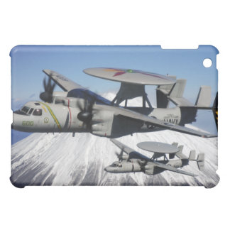 Two E-2C Hawkeyes conduct a flyby iPad Mini Cover