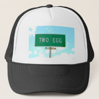 TWO EGG, FLORIDA TRUCKER HAT