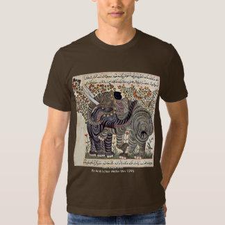 Two Elephants By Arabischer Maler Um 1295 Tee Shirt