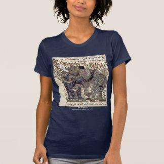 Two Elephants By Arabischer Maler Um 1295 Tshirts