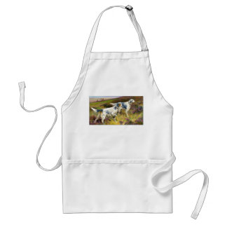 Two English Setters in a Field - Arthur Wardle Standard Apron
