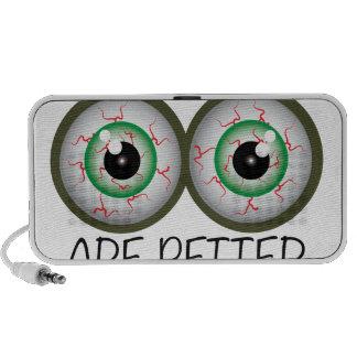 Two Eyes iPod Speaker