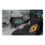 Two Eyes Multi-media Art Jung Quote Poster