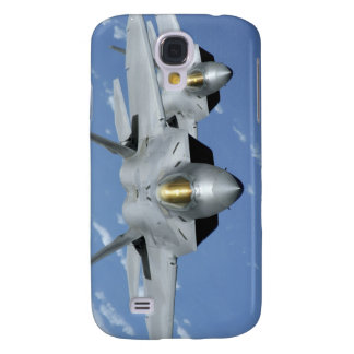 Two F-22 Raptors fly over the Pacific Ocean 2 Galaxy S4 Case
