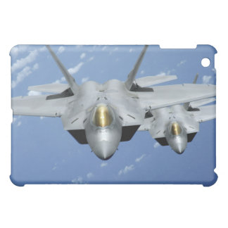 Two F-22 Raptors fly over the Pacific Ocean 2 Case For The iPad Mini