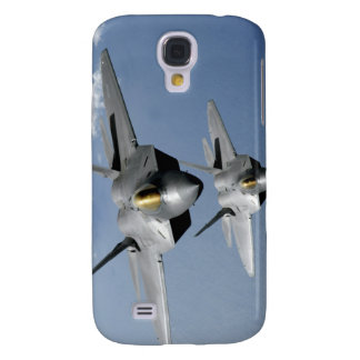 Two F-22 Raptors fly over the Pacific Ocean Galaxy S4 Case