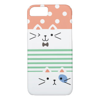 Two Faced Kitty iPhone 8/7 Case