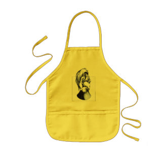 Two Faces of Grief Kids' Apron