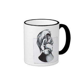 Two Faces of Grief Coffee Mugs