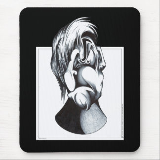 Two Faces of Grief Mousepads