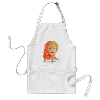 Two faces of Marie Glad Apron