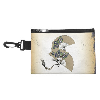 Two fans grunge clip-on bag accessories bag