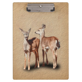 TWO FAWNS CLIPBOARDS