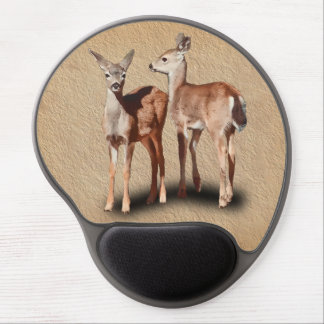 TWO FAWNS GEL MOUSE PAD
