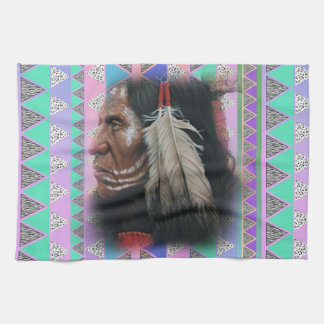 Two Feathers Hand Towel