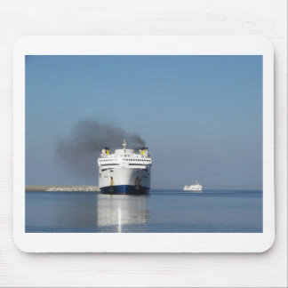 Two Ferries In Greece Mouse Mat