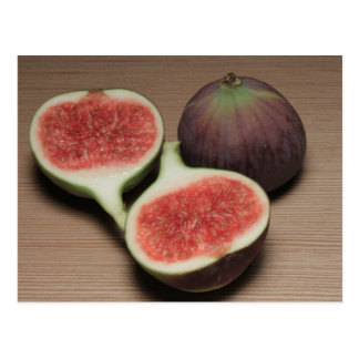 Two figs postcard