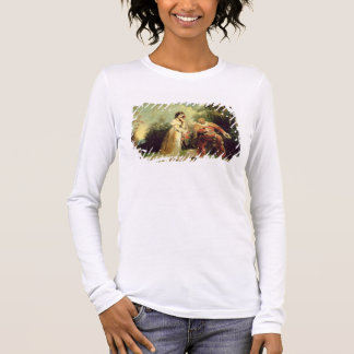 Two figures in Turkish costume in an Eastern lands Long Sleeve T-Shirt