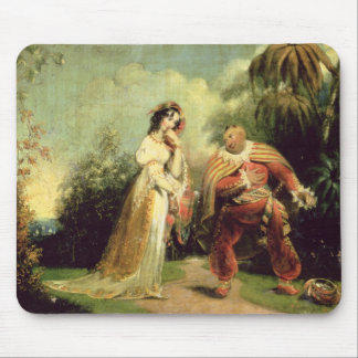 Two figures in Turkish costume in an Eastern lands Mouse Mat