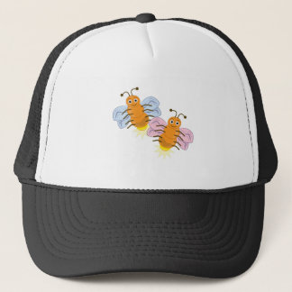 Two Fireflies Trucker Hat