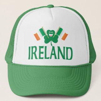 Two Flags of Ireland Trucker Hat