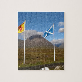 two flags of Scotland Puzzle